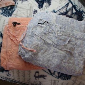 Victoria's Secret Linen Beach Pant Bundle